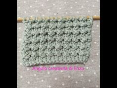 Punto a rilievo ai ferri 🧶Maglia facile - YouTube Spa Art, New Mills, Baby Knitting Patterns, Crochet Hats, Stitch, Knitting Machine, Blog, Handmade, Irene