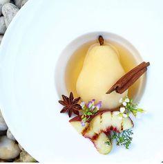 Soup  doux de  poiret aux  cannelle  ^ _ ^ et  Inconnu Chef !!