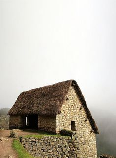 vernacular stone, thatch