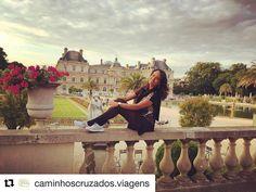 Use #letsflyawaybr e apareça no nosso feed! Obrigada  @caminhoscruzados.viagens por compartilhar essa imagem! Um olá direto do Jardim de Luxemburgo em Paris. --------- Use #letsflyawaybr and show up in our feed! Thank you @caminhoscruzados.viagens for sharing this image! A hello from the Luxembourg Garden in Paris. --------- #repost #paris #france #frança #jardimdeluxemburgo #ilovefrance #parisgram #instaparis #viagem #trip #travel #viaje #instatravel  #travelgram #igtravel #beautifulplace…