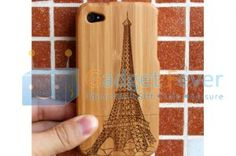 Apple iPhone 4 / 4S Wooden Protective Case (Style L)