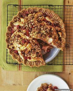 Martha Stewart Apple-Cranberry Pie