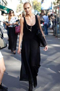 春夏全黑打扮,成为街头型人