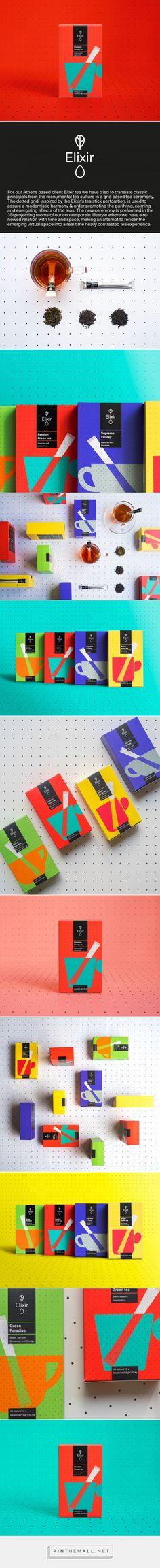 Elixir Tea Packaging by Typical Organization | Fivestar Branding Agency – Design and Branding Agency & Curated Inspiration Gallery  #tea #teapackaging #package #packagingdesign #packagedesign #packageinspiration #packaginginspiration #design #behance #pinterest #dribbble #fivestarbranding