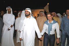princess salama of dubai   desert party, two days before the Dubai World Cup horse race, in Dubai ...