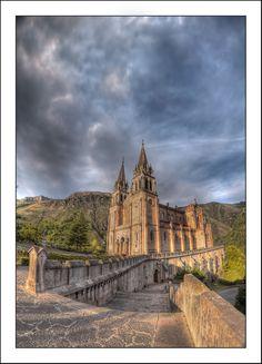 Santuario de la Virgen de Covadonga   Covadonga, Cangas de Onis, Spain