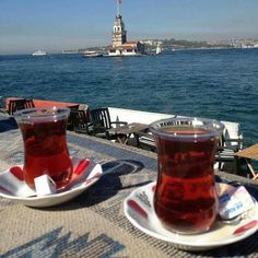 Looks like the Maiden's Tower in Istanbul Beautiful Places To Visit, Wonderful Places, Turkey Photos, Ramadan Decorations, Turkish Coffee, Istanbul Turkey, Own Home, Tea Time, Alcoholic Drinks