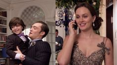 The Bass family: Chuck, Blair and little Henry [Six years of Gossip Girl, it was a blast! | All That Cubeness]