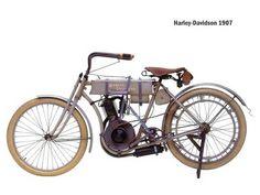 1907 Harley Davidson. #motorcycles #vintage #harley