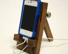 Cell Phone Smartphone stand adjustable hand made by FreeStyleWorks
