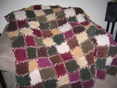 want to do this in tweeds or corduroy | Quilt, wool & specialities ... : corduroy quilts - Adamdwight.com