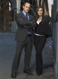 Detective Stabler and Detective Benson (SVU),   they were great together.