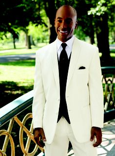 Love the look of a tux!!!