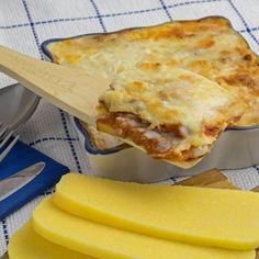 facilissime, velocissime, buonissime queste lasagne di polenta!