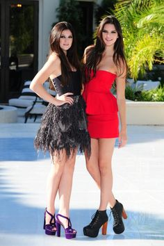 Kendall and Kylie Jenner fashion