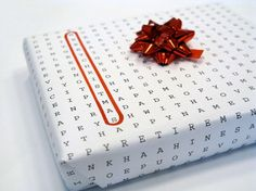 Word Puzzle Universal Wrapping Paper