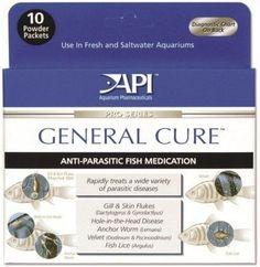 AQUATICS - FISH MEDICATIONS - GENERAL CURE POWDER PACKETS