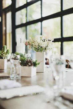 Modern Wedding Centerpieces