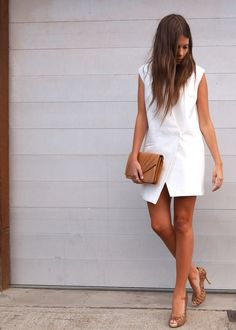 wearing: Cameo vest dress via Market HQ, Nathanial heels by Scarletto's, clutch - vintage.