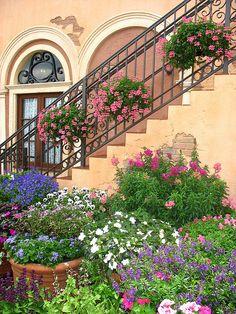 Epcot - Flower & Garden Festival - Italy by ScrapNancy, via Flickr