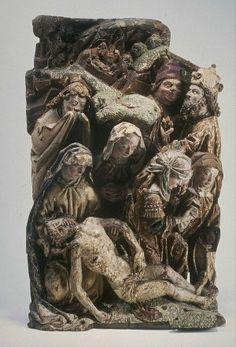Collectie Boijmans Online De bewening van Christus Anoniem, circa 1500