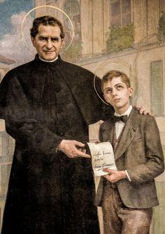 6 mei: H. Domenico Savio (1842-1857), patroonheilige van de katholieke jeugd, koorknapen, misdienaars, klein in gestalte en leeftijd, een reus in de geest.