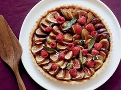Fig-and-Raspberry Tart with Chestnut Honey | Food & Wine goes way beyond mere eating and drinking. We're on a mission to find the most exciting places, new experiences, emerging trends and sensations.