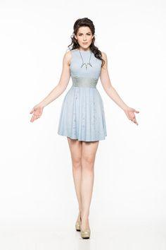 Sky Queen A-Line Dress