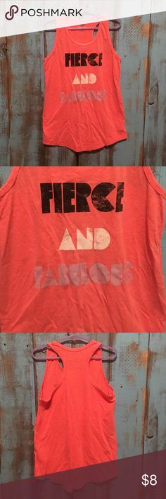 Fierce and fabulous distress tank! Girls size 8 Excellent condition! Super cute tank. Little girls size medium, fits size 8 - 10 Old Navy Shirts & Tops Tank Tops