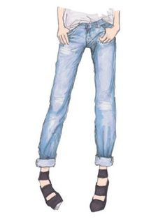 Lastest Best Images About Pants Flat Sketch On Pinterest  Ankle Length Pants
