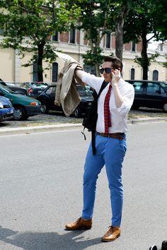 Street wear Menswear SS/13 @ Milan Fashion Week.