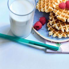 Tupperware, Waffles, Party, Breakfast, Food, Circular Economy, Simple, Iced Coffee, Sustainability