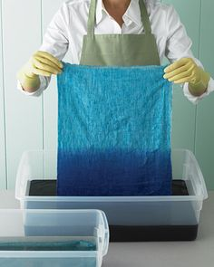 ombre- martha stewart, for wall hangings, table-cloths, etc-- to make as gifts.