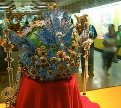 In ancient China, the dragon marked the Emperor, and Phoenix – the Empress. (Ming Dynasty empress's 6-dragons-3-phoenixes crown). Photo Credit