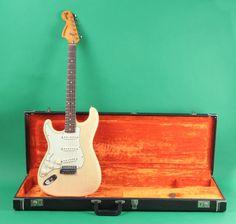 Fender Stratocaster 1977 Blonde Left Handed | Reverb