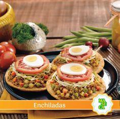 Disfrutá de estas deliciosas enchiladas con el mejor sabor.  #Receta #TodoConMaseca #Enchiladas #Maseca