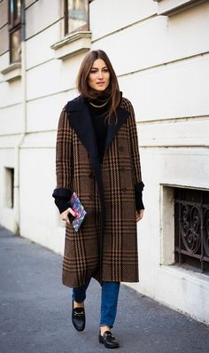 § Plaid coat