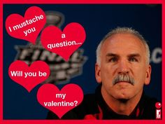 Happy Valentine's Day from the Chicago Blackhawks!