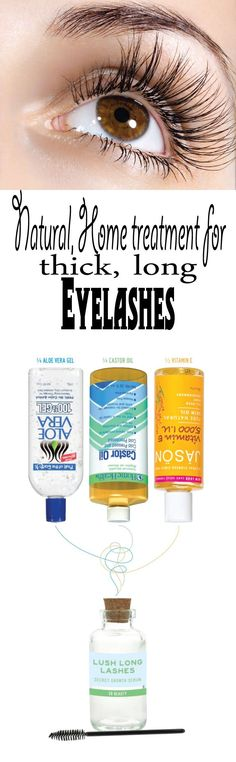 Natural, home treatment for thick, long eyelashes - Vogue Beauty Magazine