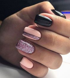 Nageldesign Glitzernagel Design Nagellack Ideen Winter Nägel Cocaine Use Among Teens Cocaine is a po Square Nail Designs, Nail Art Designs, Nails Design, Short Square Nails, Short Nails, Trendy Nails, Cute Nails, Stylish Nails, Hair And Nails