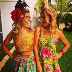 Fernanda Paes Leme e Carolina Dieckmann (Foto: Reprodução/Instagram)