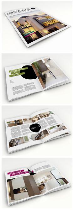 Fourwalls - Modern Print Template