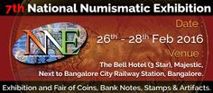 Marudhar Arts Presents The Most Prestigious Event... NNE 7 - National Numismatic Exhibition 7, 2016