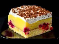 The best homemade cake. I cook it for all celebrations – Pastry World Weight Watchers Kuchen, Canned Blueberries, Vegan Scones, Gluten Free Flour Mix, Scones Ingredients, Homemade Cakes, Muffin Recipes, Cheesecake, Food And Drink