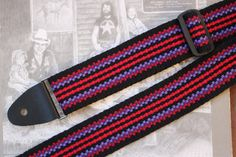 Guitar Strap Woven by Hand in the USA for by WeaverGuitarStraps