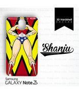 Superman Wonderwoman Kiss Design For Samsung Galaxy Note 3 - Consumer Electronics