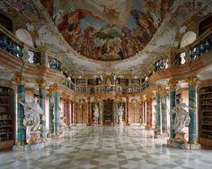 Biblioteca do Monasterio de Wiblingen, Alemanha
