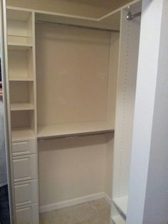 Another happy repeat customer.  White walk in closet in St Petersburg fl. #walkincloset #customcloset