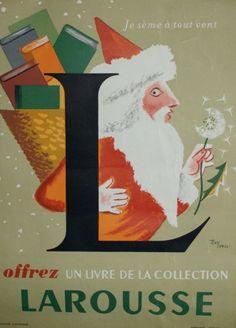 Offrez un livre de la collection Larousse - illustration de Jean Carlu -