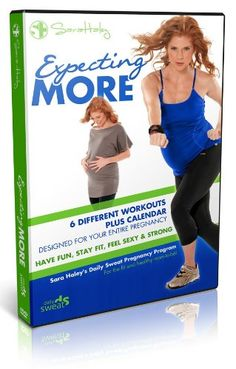 Expecting More - Sara Haley's Daily Sweat Pregnancy Program (2 DVDs) * Check out this great product.